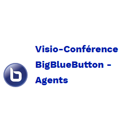 icône Visio-Conférence BBB Agents